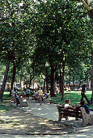 Philadelphia: View of Rittenhouse Square. Photo '76.