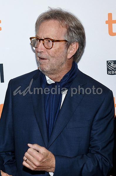 "10 September 2017 - Toronto, Ontario Canada - Eric Clapton. 2017 Toronto International Film Festival - ""Eric Clapton: Life In 12 Bars"" Premiere held at TIFF Bell Lightbox. Photo Credit: Brent Perniac/AdMedia"