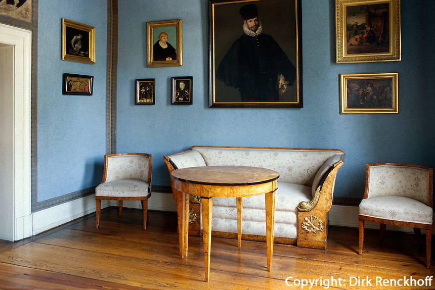 Deutschland, Thüringen, im Goethehaus in Weimar, UNESCO-Weltkulturerbe