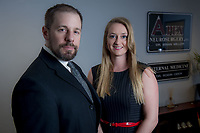 Dr. Brian Miller & Physician's Assistant Brittany