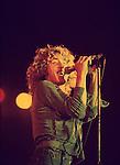The Who 1976 Roger Daltrey at Charlton<br /> © Chris Walter