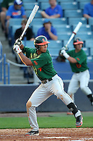 """Miami Hurricanes Harold Martinez #9 during a game vs. the University of South Florida Bulls in the """"Florida Four"""" at George M. Steinbrenner Field in Tampa, Florida;  March 1, 2011.  USF defeated Miami 4-2.  Photo By Mike Janes/Four Seam Images"""