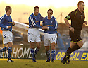 14/01/2006         Copyright Pic: James Stewart.File Name : sct_jspa04_clyde_v_stjohnstone.PAUL SHEERIN CELEBRATES AFTER HE SCORES ST JOHNSTONE'S FIRST FROM THE PENALTY SPOT....Payments to :.James Stewart Photo Agency 19 Carronlea Drive, Falkirk. FK2 8DN      Vat Reg No. 607 6932 25.Office     : +44 (0)1324 570906     .Mobile   : +44 (0)7721 416997.Fax         : +44 (0)1324 570906.E-mail  :  jim@jspa.co.uk.If you require further information then contact Jim Stewart on any of the numbers above.........