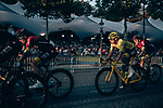Yellow Jersey Egan Bernal (COL) and Team Ineos on the Champs-Elysees during Stage 21 of the 2019 Tour de France running 128km from Rambouillet to Paris Champs-Elysees, France. 28th July 2019.<br /> Picture: ASO/Thomas Maheux   Cyclefile<br /> All photos usage must carry mandatory copyright credit (© Cyclefile   ASO/Thomas Maheux)