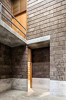 """""""Los Chocolates Community Centre"""", Col. Carloina Cuernavaca Mor. Mexico, Finished 2018."""