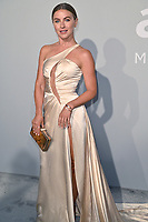 ANTIBES, FRANCE. July 16, 2021: Julianne Hough at the amfAR Cannes Gala 2021, as part of the 74th Festival de Cannes, at Villa Eilenroc, Antibes.<br /> Picture: Paul Smith / Featureflash