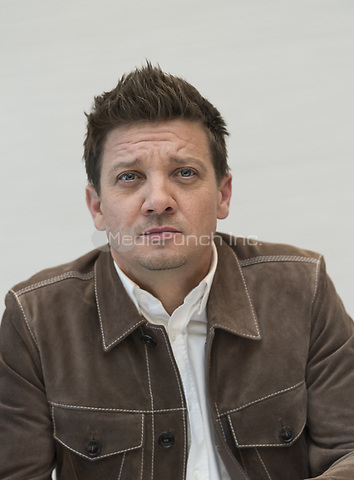 "Jeremy Renner, who stars in 'Avengers: Endgame"", at the InterContinental Hotel in Los Angeles. Credit: Magnus Sundholm/Action Press/MediaPunch ***FOR USA ONLY***"