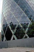 Norman Foster: St. Mary Axe--detail.  Photo '05.