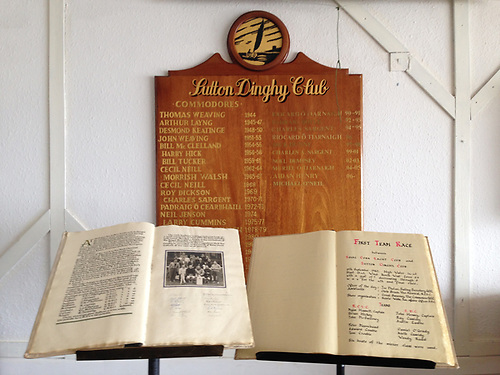 The Book has been reposing at Sutton Dinghy Club through the plague years, but it will be in Crosshaven tomorrow (Saturday), and a day's team racing will decide whether it stays there.