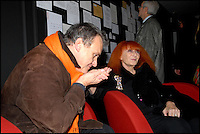 JEAN CHARLES DE CASTELBAJAC ET SONIA RYKIEL<br /> Lors de la soiree des 40 ans de creation Sonia Rykiel