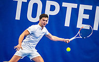 Amstelveen, Netherlands, 14  December, 2020, National Tennis Center, NTC, NK Indoor, National  Indoor Tennis Championships, Qualifying:   Floris Podzimek (NED) <br /> Photo: Henk Koster/tennisimages.com