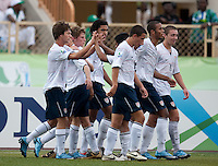 US Men's National Team Under 17. US Under-17 Men's National Team defeated United Arab Emirates 1-0 at Gateway International  Stadium in Ijebu-Ode, Nigeria on November 1, 2009.