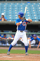 Outfielder Jack Schaaf (20) of Springboro High School in Springboro, Ohio playing for the Chicago Cubs scout team during the East Coast Pro Showcase on August 1, 2013 at NBT Bank Stadium in Syracuse, New York.  (Mike Janes/Four Seam Images)