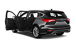 Car images close up view of a 2019 Ford Focus-Clipper Vignale 5 Door Wagon doors