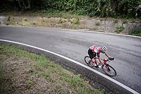 Nicola Conci (ITA/Trek-Segafredo)<br /> <br /> Stage 8: Tortoreto Lido to Pesaro (239km)<br /> 102nd Giro d'Italia 2019<br /> <br /> ©kramon