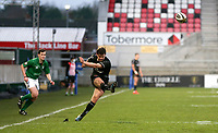 15 January 2021; Bill Johnston converts during the A Interprovincial match between Ulster and Leinster at Kingspan Stadium in Belfast. Photo by John Dickson/Dicksondigital