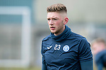 St Johnstone Training…25.02.18<br />Liam Gordon pictured during training at McDiarmid Park ahead of the Rangers game<br />Picture by Graeme Hart.<br />Copyright Perthshire Picture Agency<br />Tel: 01738 623350  Mobile: 07990 594431