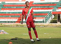 TULUA - COLOMBIA, 23-04-2021: Cortuluá y Atlético Huila en partido por la fecha 2, cuadrangulares semifinales, como parte del Torneo BetPlay DIMAYOR I 2021 jugado en el estadio Doce de Octubre de la ciudad de Tuluá. / Cortulua and Atletico Huila in the match for the date 2, semifinal home runs, as part of BetPlay DIMAYOR Tournament I 2021 played at Doce de Octubre stadium in Tulua city. Photo: VizzorImage / Carlos Castrillon / Cont
