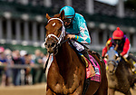 September 4, 2020: Monomoy Girl  with Florent Geroux wins the La Troienne Stakes  at Churchill Downs in Louisville, Kentucky, on September 04, 2020. Evers/Eclipse Sportswire/CSM