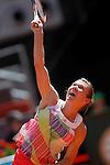 Simona Halep, Roumania, during Madrid Open Tennis 2016 match.May, 4, 2016.(ALTERPHOTOS/Acero)