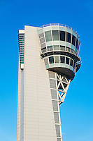 Air traffic control tower, Philadelphia International Airport.