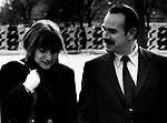 G. Gordon Liddy on way to Watergate hearings, G. Gordon Liddy was the chief operative for the White House Plumbers during President Richard Nixon term with subsequent cover-up of the Watergate scandal and resignation of Nixon in 1974,
