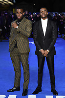 """Michael Ward and Stephen Odubola<br /> arriving for the """"Blue Story"""" premiere at the Curzon Mayfair, London.<br /> <br /> ©Ash Knotek  D3534 14/11/2019"""