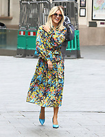 Ashley Roberts at the Global Radio Studios, Leicester Square, London on 9th September 2020<br /> CAP/ROS<br /> ©ROS/Capital Pictures