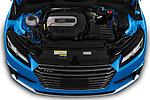 Engine high angle detail view 2019 Audi TTS-Coupe Base 3 Door Coupe