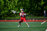 Thursday May 10, 2018: Game action from the Varsity Boston College High vs Catholic Memorial High lacrosse game played at BH High in Boston MA. Eric Canha/BridgewaterSports.com
