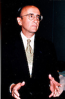 Montreal (Qc) CANADA - JUne 1 1999 File Photo - Richard (Dick) Grasso, NYSE
