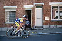 Jens Reynders (BEL/Sport Vlaanderen - Baloise)<br /> <br /> 55th Grote Prijs Jef Scherens - Rondom Leuven 2021 (BEL)<br /> <br /> One day race from Leuven to Leuven (190km)<br /> ridden over the final circuit of the 2021 World Championships road races <br /> <br /> ©kramon