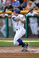 Johnny Giavotella #6 of the Omaha Storm Chasers plays for the Pacific Coast League All-Stars in the annual Triple-A All-Star Game against the International League All-Stars at Spring Mobile Ballpark on July 13, 2011  in Salt Lake City, Utah. The International League won the game, 3-0. Bill Mitchell/Four Seam Images.