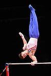 World Championships Gymnastics Mens Team Final 2015 SSE Hydro Arena. Max Whitlock .Max Whitlock.