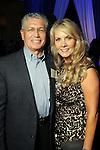 Rick and Beth Palmer at the Technip reception at the Hotel Derek Tuesday May 1,2012. (Dave Rossman Photo)
