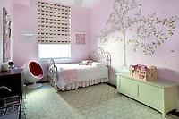 Contemporary girl's bedroom