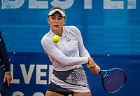 Amstelveen, Netherlands, 5  Juli, 2021, National Tennis Center, NTC, Amstelveen Womans Open, Anastasia Detiuc (CZE)<br /> <br /> <br /> Photo: Henk Koster/tennisimages.com