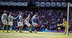 12.05.2019 Rangers v Celtic: James Tavernier's free-kick beats Scott Bain in goals