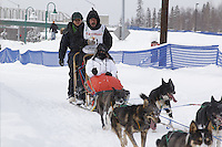 Art Church Jr. Saturday, March 3, 2012  Ceremonial Start of Iditarod 2012 in Anchorage, Alaska.