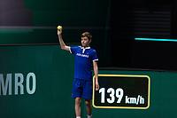 Rotterdam, The Netherlands, 28 Februari 2021, ABNAMRO World Tennis Tournament, Ahoy, First round match: Andy Murray (GBR) vs Robin Haase (NED).<br /> Photo: www.tennisimages.com/henkkoster