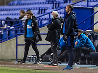Bolton Wanderers' head coach Ian Evatt looks on <br /> <br /> Photographer Andrew Kearns/CameraSport<br /> <br /> EFL Papa John's Trophy - Northern Section - Group C - Bolton Wanderers v Newcastle United U21 - Tuesday 17th November 2020 - University of Bolton Stadium - Bolton<br />  <br /> World Copyright © 2020 CameraSport. All rights reserved. 43 Linden Ave. Countesthorpe. Leicester. England. LE8 5PG - Tel: +44 (0) 116 277 4147 - admin@camerasport.com - www.camerasport.com