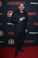 """HOLLYWOOD, LOS ANGELES, CA, USA - MARCH 20: Emilio Rivera at the Los Angeles Premiere Of Pantelion Films And Participant Media's """"Cesar Chavez"""" held at TCL Chinese Theatre on March 20, 2014 in Hollywood, Los Angeles, California, United States. (Photo by David Acosta/Celebrity Monitor)"""