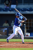 Indiana State Sycamores shortstop Tyler Friis (3) at bat during a game against the Vanderbilt Commodores on February 21, 2015 at Charlotte Sports Park in Port Charlotte, Florida.  Indiana State defeated Vanderbilt 8-1.  (Mike Janes/Four Seam Images)