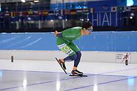 SCHAATSEN: HEERENVEEN: 18-10-2018, IJsstadion Thialf, schaatstraining, Koreaan Seung-Hoon Lee, ©foto Martin de Jong