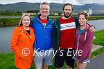 Kathleen and Steven Wells, Sean O'Donoghue and Hayley McMahon enjoying a stroll on the Canal walk on Saturday evening.