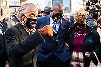 Al Sharpton, Philonise Floyd, Gwen Carr Eric Garner's Mother<br /> CAP/MPI/IS/CT<br /> ©CT/IS/MPI/Capital Pictures