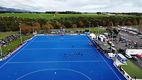 The teams warm up before the Sentinel Homes Trans Tasman Series hockey match between the New Zealand Black Sticks Women and the Australian Hockeyroos at Massey University Hockey Turf in Palmerston North, New Zealand on Sunday, 30 May 2021. Photo: Dave Lintott / lintottphoto.co.nz