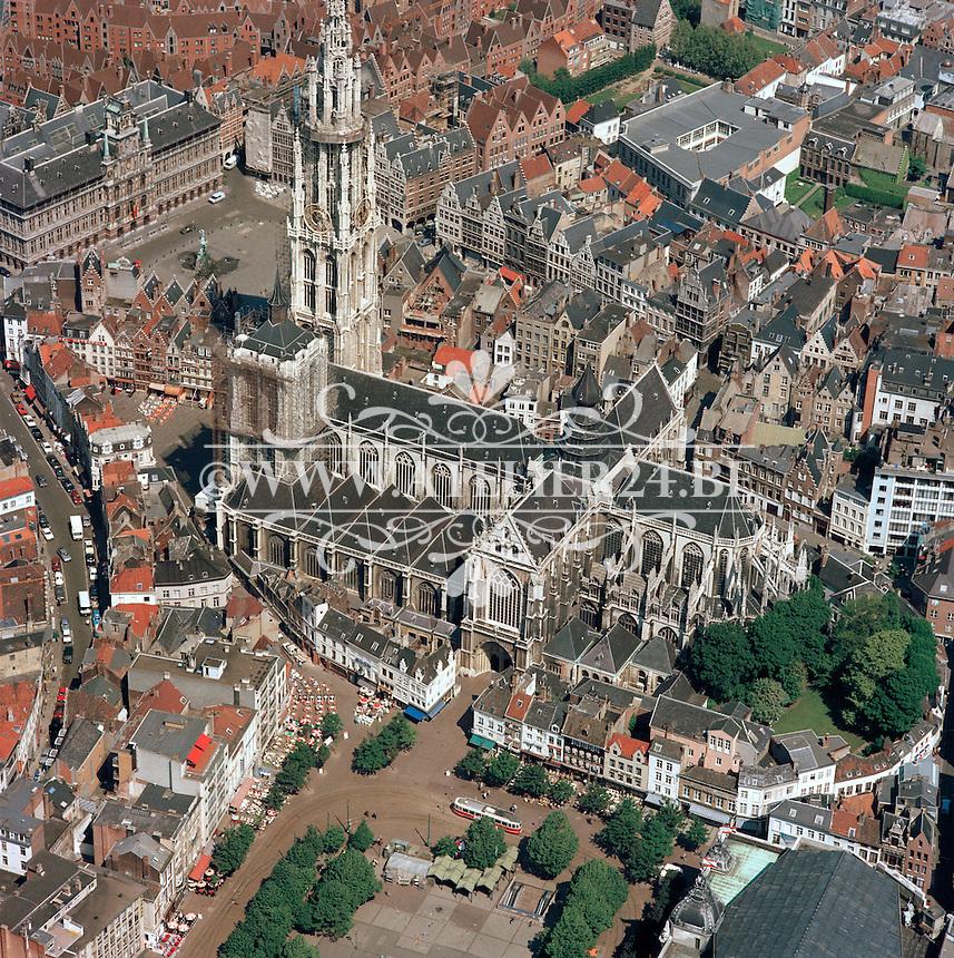 Mei 1986.  Kathedraal Antwerpen.