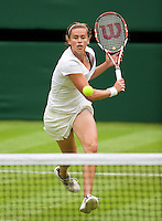 22-6-09, Enland, London, Wimbledon, Neuza Silva