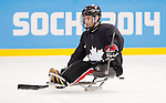 Sochi, RUSSIA - Mar 2 2014 -  Graeme Murray during practice before the 2014 Paralympics in Sochi, Russia.  (Photo: Matthew Murnaghan/Canadian Paralympic Committee)